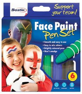Bostik Face Paint 6x4.7g