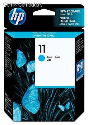 HP 11 CYAN INK CARTRIDGE FOR DESIGNJET 120 (28ML)