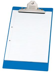 Bantex Clipboard Heavy Duty Blue