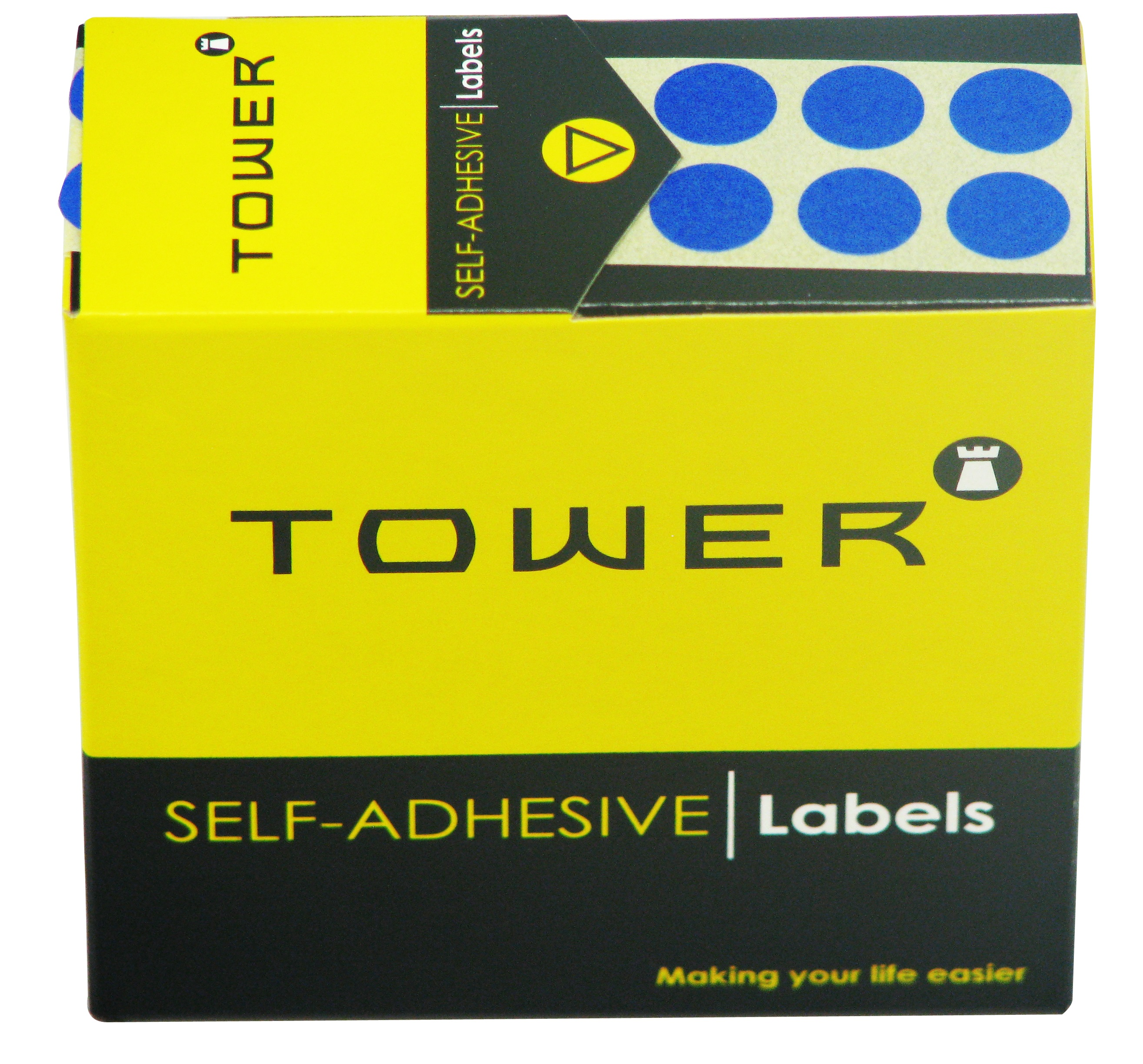 Tower C10 Label Blue