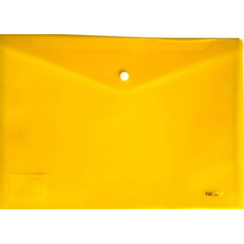 NEXX PP A4 BUTTON ENVELOPE YELLOW