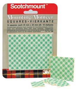 Scotchmount Squares 25mmx25mm