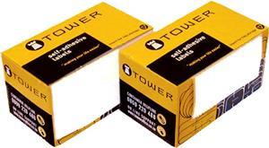 Tower Address Label 83mmx33mm White