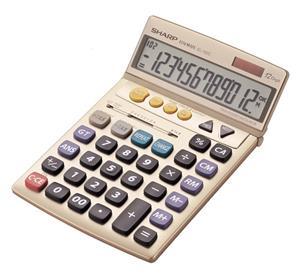 Sharp EL792 12D Large Slant Calculator