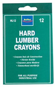 Hard Lumber Crayons Yellow