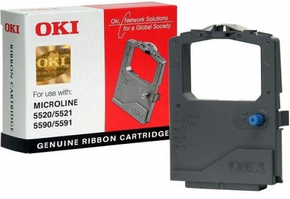 Oki 01-09-5500 Black Ribbon