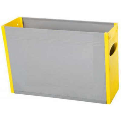 Tidy Files Solid Plastic Container A4-Yellow