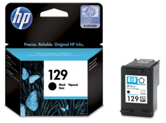 HP 129 Black Ink Cartridge