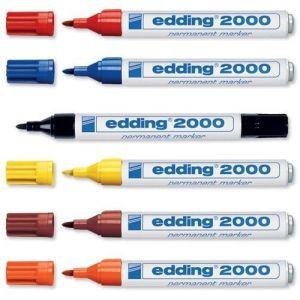 Edding 2000 Red Bullet Marker