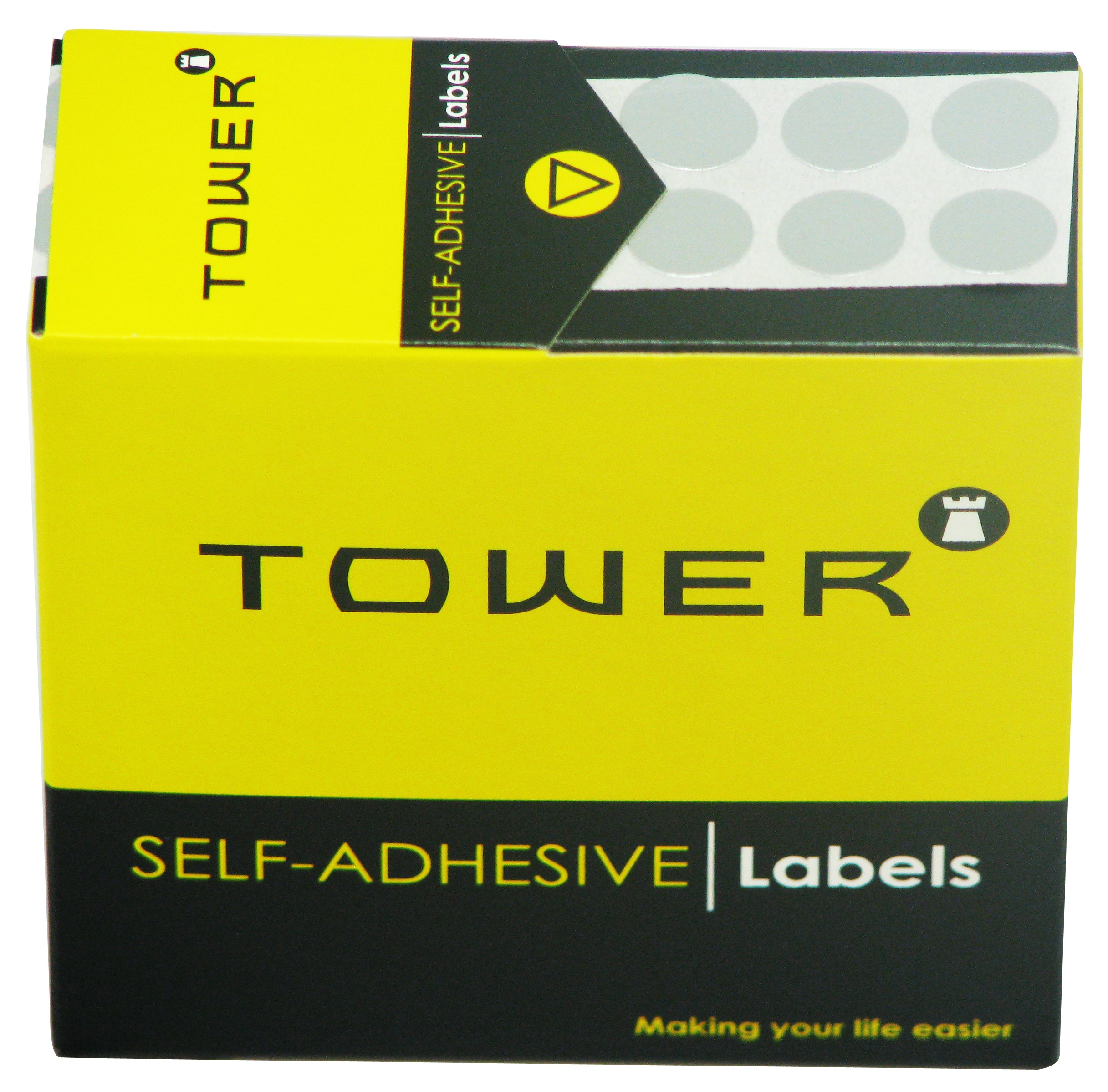 Tower C13 Label Silver