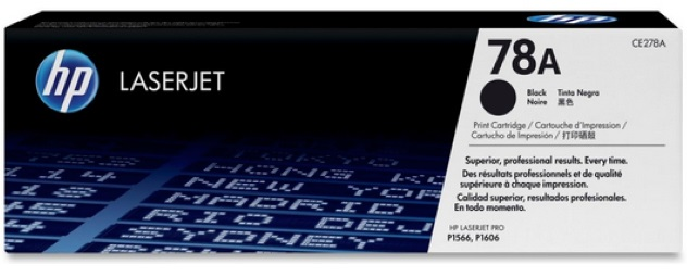 HP 78AD Black Toner Cartridge Dual Pack