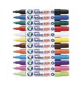 Artline EK400 Paint Marker White