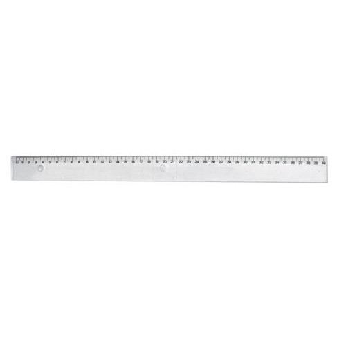 Stephens Ruler 40cm Clear Shatterproof