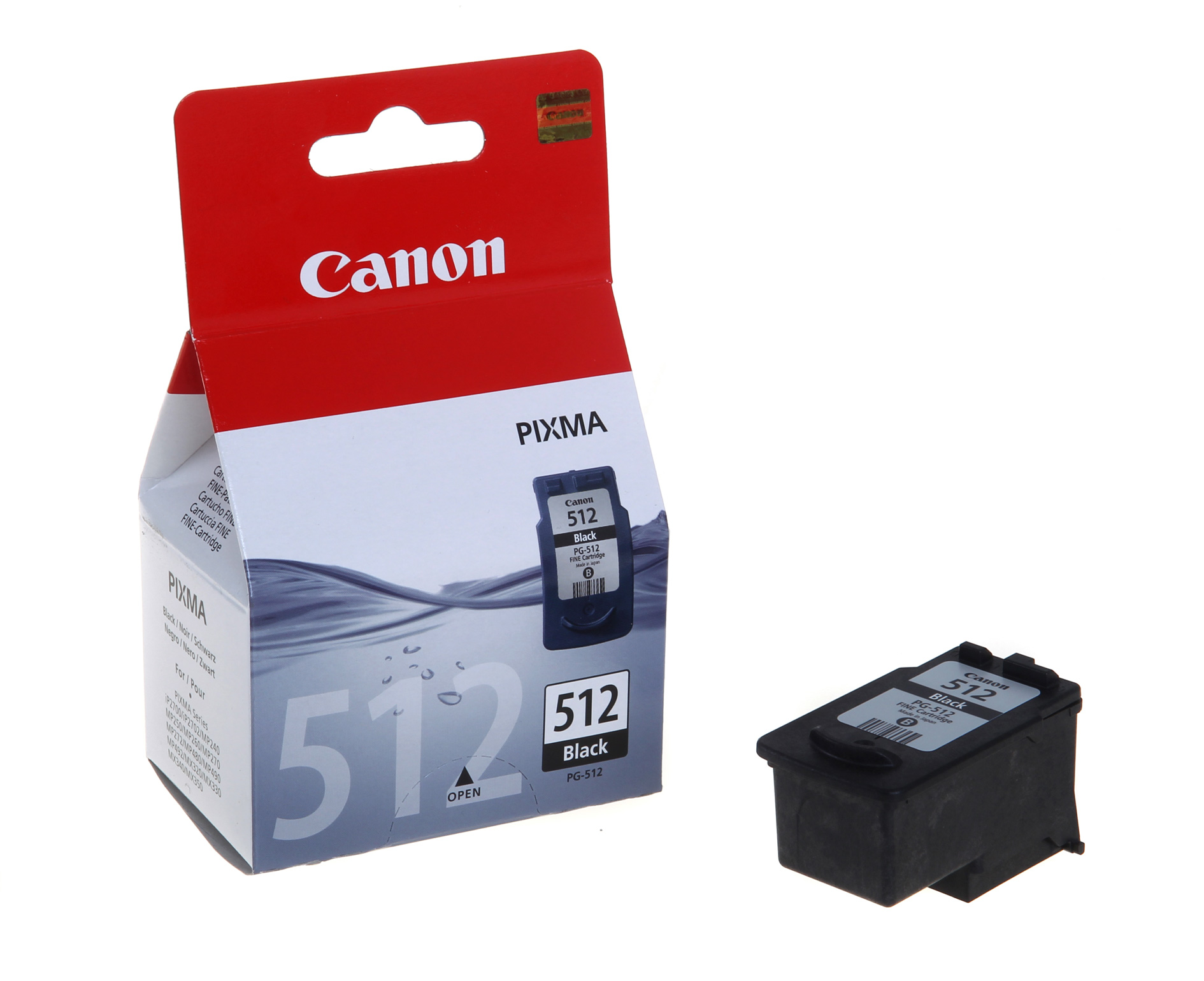 Canon PG512 Black High Yield Ink Cartridge