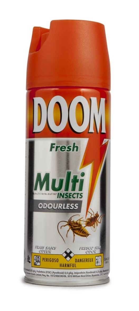 Doom Ouderless Multi Insect Spray