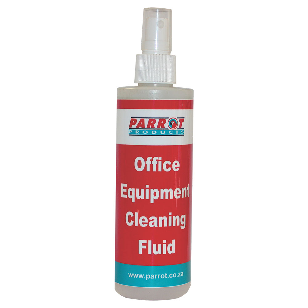 Office Equipment Cleaner  Single Carded 250ml spray bottle