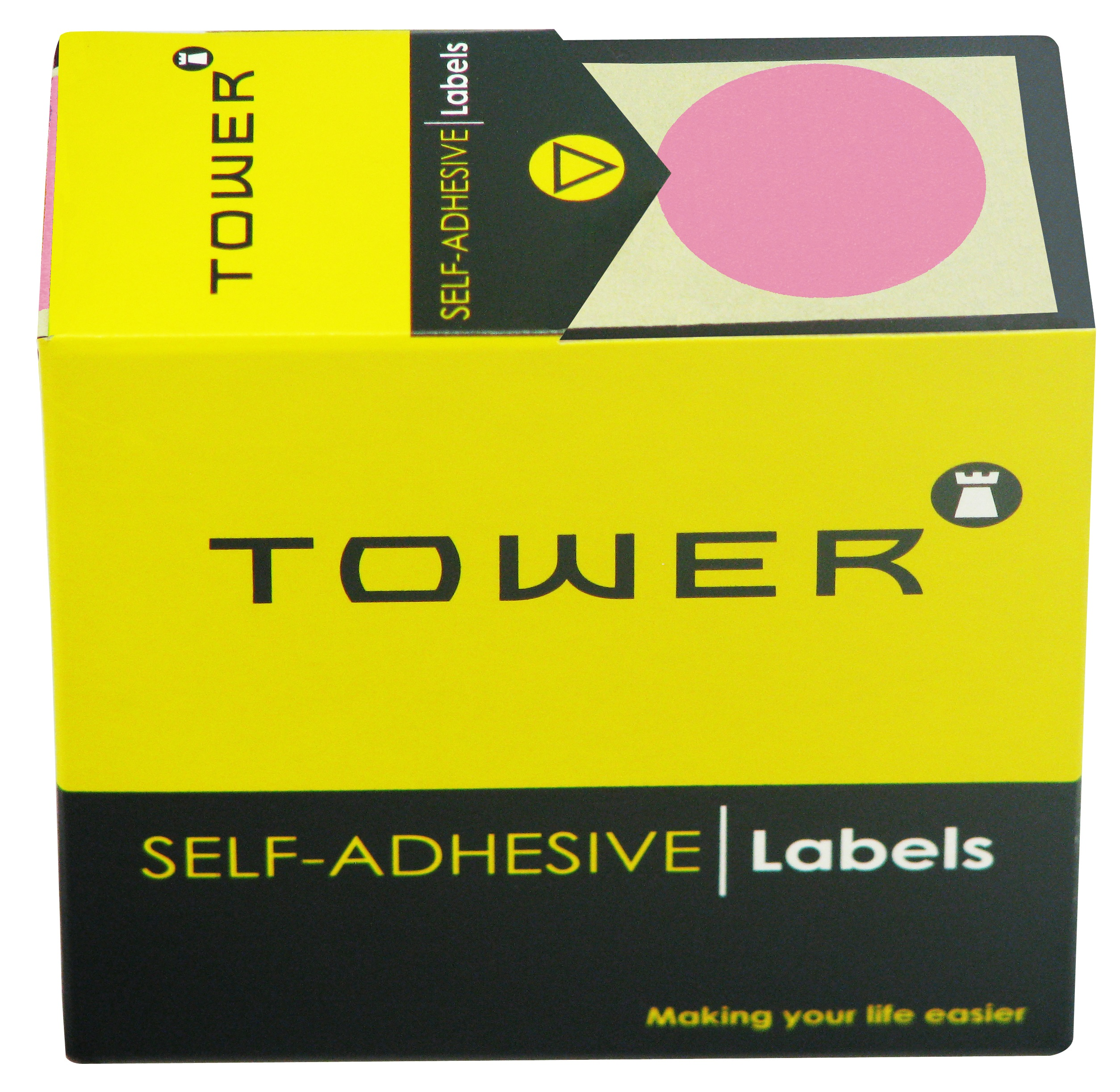 Tower C32 Label Pink