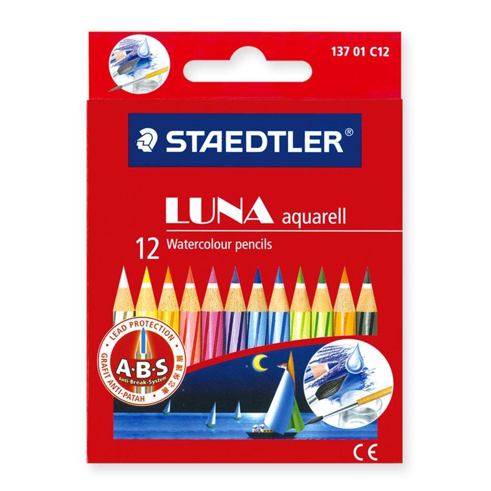 Staedtler 14410NC12 Luna Aquarell 12's
