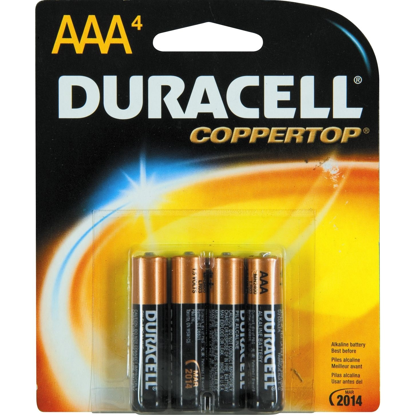 Duracell 1.5v 'AAA Battery
