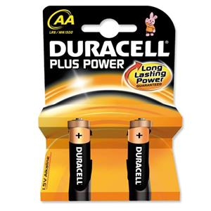 Duracell Batteries Non Rechargeable AA Pack 2
