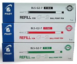 Pilot Refills For BL-G2-7 Green