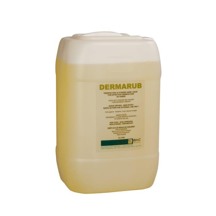 Hand sanitising - Dermarub- 70% Ethanol - 25L