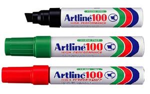 Artline EK100 Industrial Marker Blue