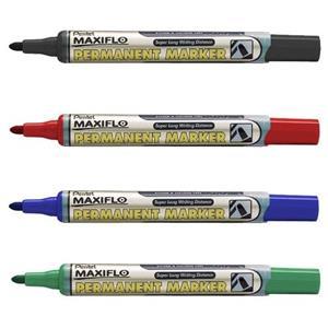 Pentel NLF50 Maxiflo Bullet Blue Marker