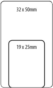 Tower R1925 Labels Green