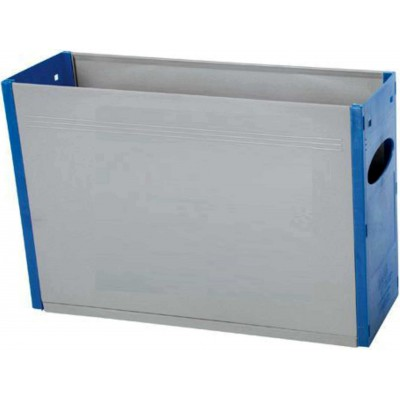 Tidy Files Solid Plastic Container A4-Blue