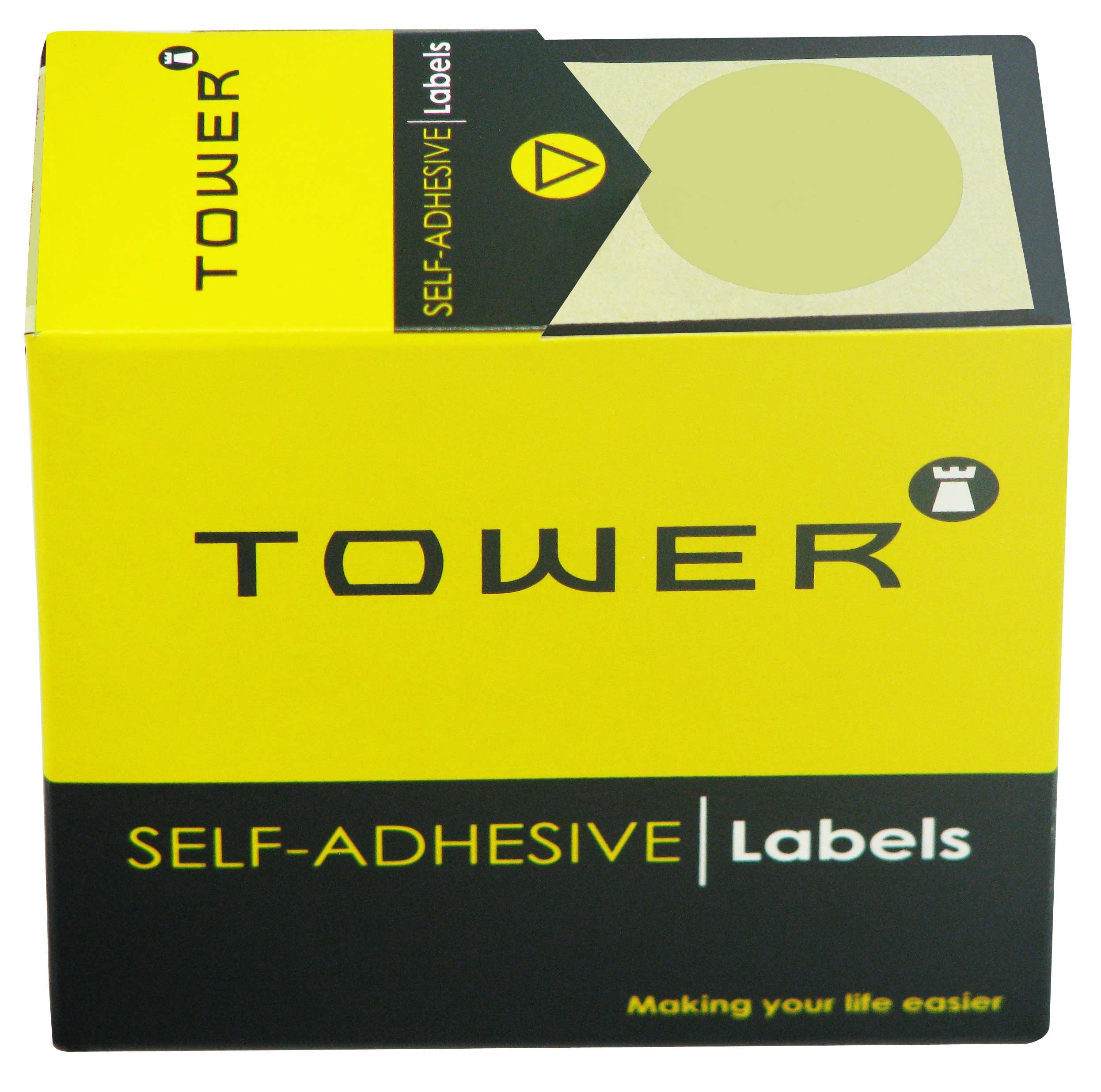 Tower C32 Label Gold