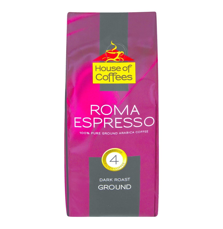 House Of Coffee Ground Espresso 250g