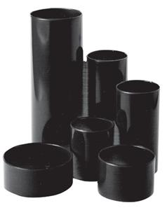 Desk Tidy Round Up Black