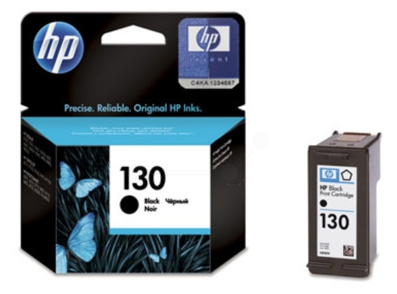 HP 130 Black Ink Cartridge