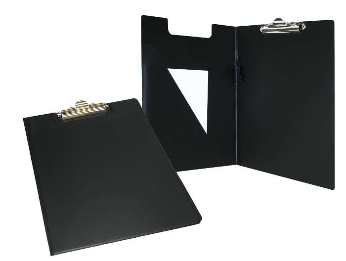 Bantex A4 PVC Clipboard Black