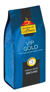 House Of Coffee Ground VIP Gold 250g
