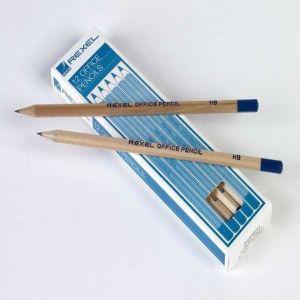 Rexel HB Pencil Box 12