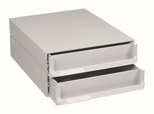 Bantex Texo 2 Drawer 263mmx333mmx128mm