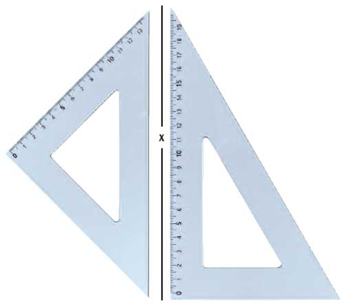 B-Board Set Square 45deg