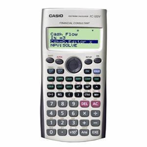 Casio Fc-100v-W New Financial Calculator