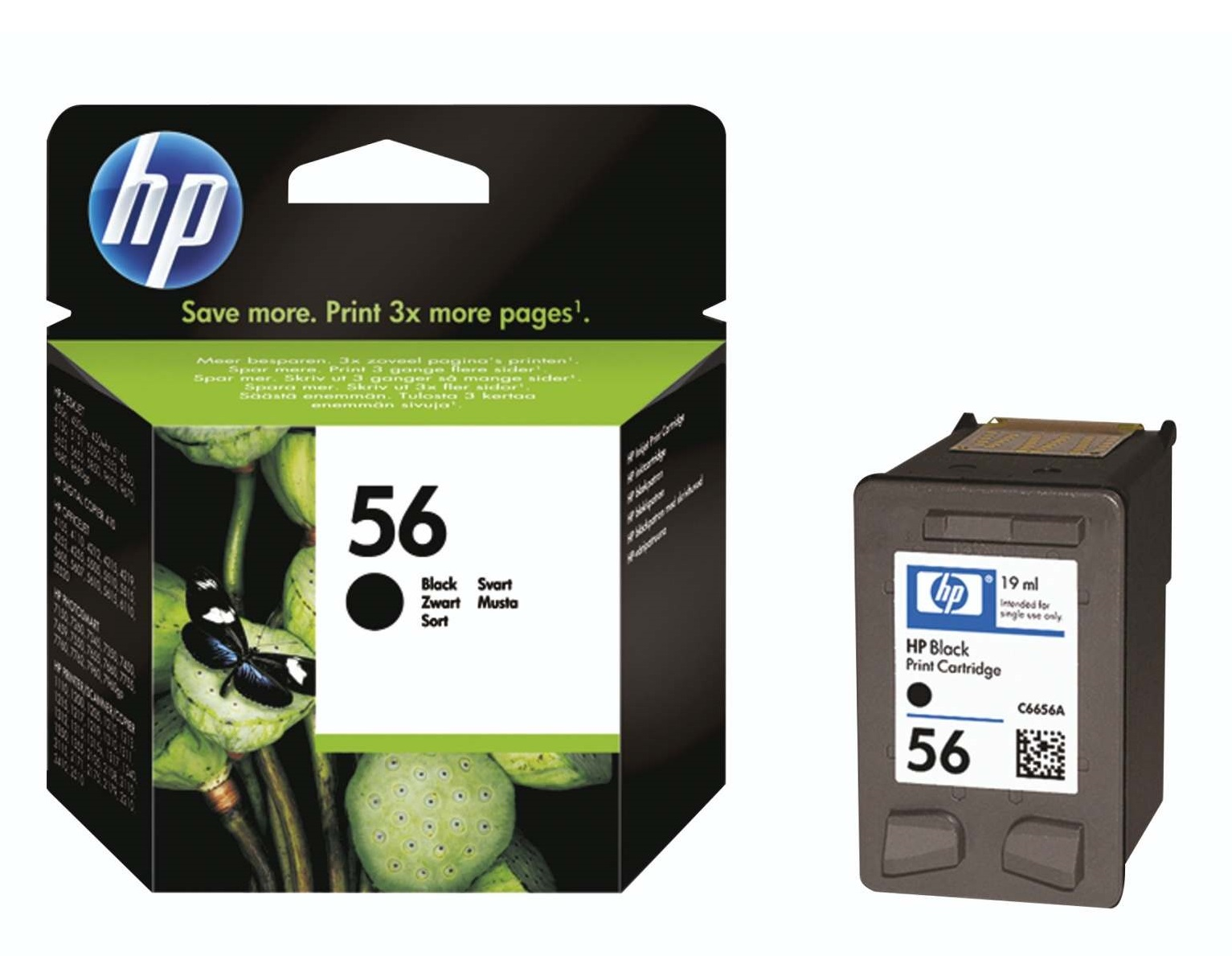 HP 56 Black Inkjet Cartridge