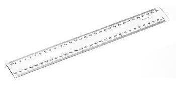 Rulers 30cm clear
