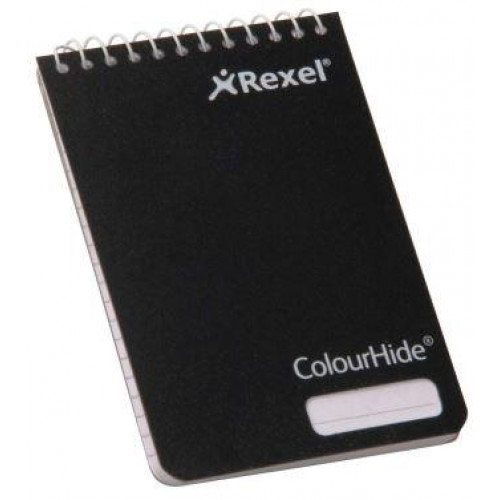 POCKET NOTEBOOK - BLACK