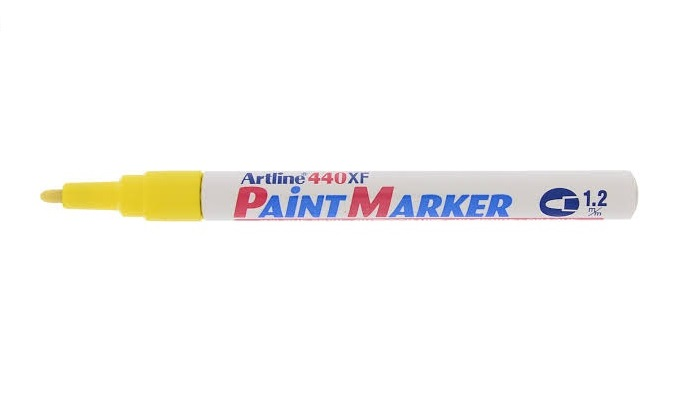 Artline EK440 Paint Marker Yellow