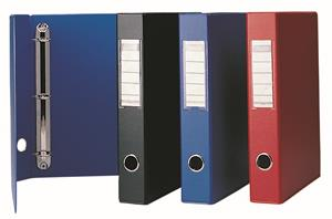 Bantex A4 2D Ringbinder 30mm Red