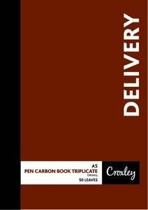 Croxley JD66PR A5 Delivery Triplicate