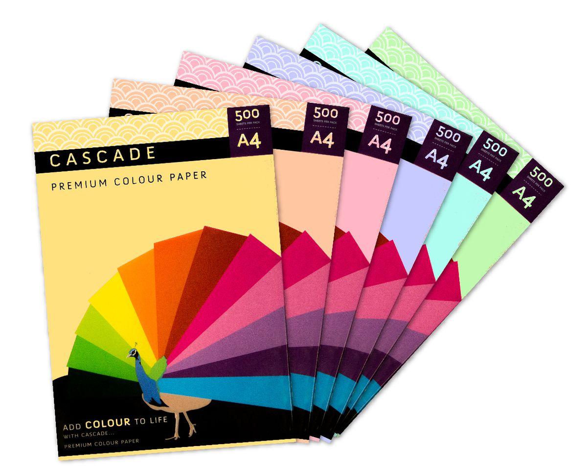 Cascade Pastel Yellow Paper 80gsm A4