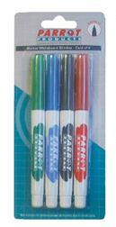 Parrot Marker Whiteboard Slimline Carded 4