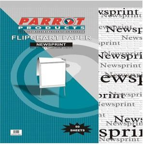Parrot Flipchart Paper Newsprint 50 Sheets 860*610mm