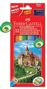 Faber Castell Colour Pencil 12's Full Hexagonal
